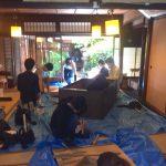 上京区の町家改修−1 5月12日