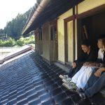 木匠塾@京北小塩の家改修プロジェクト 土壁塗り 建具 8/23