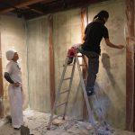 町家研究室の活動から 蔵の内装  8月28日