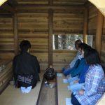 完成記念茶会@ツリーハウス  木匠塾活動から 4/23