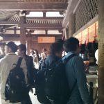 大報恩寺 伝統建築演習  5月11日