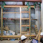 伝統の土壁構造実験−1 空フレーム 12月13日