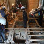 伊賀上野の古民家修繕作業−1 3月5日