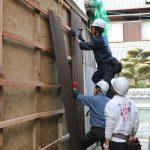 伊賀上野物置修繕工事−6 4月5日