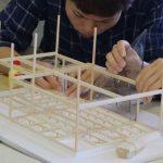 木造住宅構造模型製作−2 5月11日