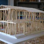 木造住宅構造模型製作−3 5月22日