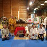 千本釈迦堂小屋組模型除幕式 7月21日