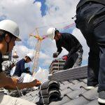 平成京町家解体現場から 瓦撤去作業 8月28日