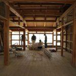 平成京町家の解体作業から 壁土を分けてもらいました 8月4日