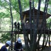 木匠塾2日目 ツリーハウス解体作業の段取り  8月4日