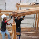 平成の京町家解体現場から 小屋組解体 9月15日