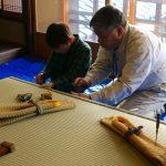 京の住文化講座−3 畳ワークショップ 2月2日