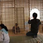竹茶室をつくる−4 会場で建設! 2/28
