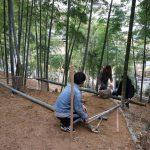 竹林農小屋プロジェクト−1 現地視察  3月5日