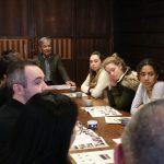 プリンストン大学生たちの見学訪問 3月18日
