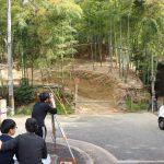 長岡京の竹林測量−1 4月18日