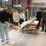 木工基礎授業から 4月第3週