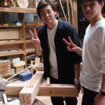 木工基礎授業から 渡りあご 4月23日