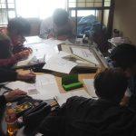 小屋建設プロジェクト−2 構造図を描く 5月10日
