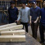 小屋建設プロジェクト−1 継手加工の練習 5月9日