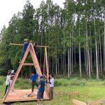 木匠塾AAunit 建て方完了! 8月22日