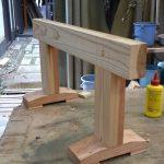 木工基礎授業から 馬を製作する 8月1日