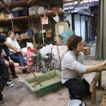 堀川茶室−7 土壁塗りの準備  10月25日