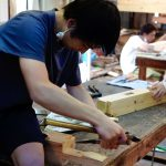 1年生木工基礎実習 8月4日