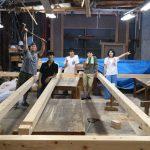 竹林木匠塾2020−4 6m*6mの舞台をつくる 8月12日