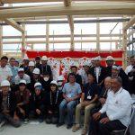 宇治茶園小屋建設−17 上棟式 公開イベント  9月22日