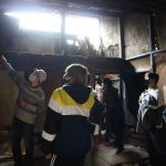 仁王門通りの路地長屋改修プロジェクト−1 11月7日