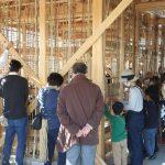 茶園小屋建設−23 竹小舞かき体験イベント 11月14日