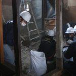 仁王門通りの長屋改修−4 小解体つづき 12月12日