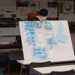 建築科二部 卒計の発表がはじまりました