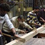 木工基礎実習はじまりました  4月13日