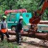 京北での林業体験教室に参加しました   8月8日