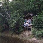 京北ツリーハウス木匠塾−4 瓦葺き+棟木 8月29日
